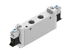 Sinônimo de inovação na automação de processos, Melo é distribuidor autorizado da Festo - seu catálogo contém produtos como Válvula Solenóide Direcional VUVG -L18-B52-T-G14-1P3 e outros. Encontre aqui soluções da Festo para automação de indústrias.