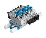 Bloco manifold VTUG, com conexão elétrica individual